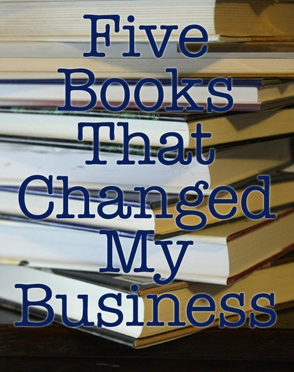 five books that changed my business