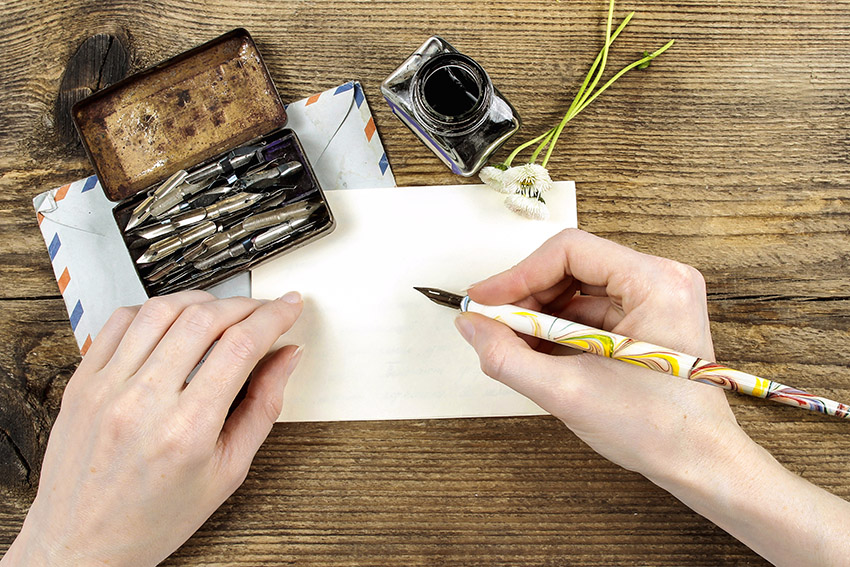 The Power of the Pen--write personalized letters