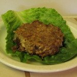 Oatburg--a Tasty & Healthy Hamburger Alternative