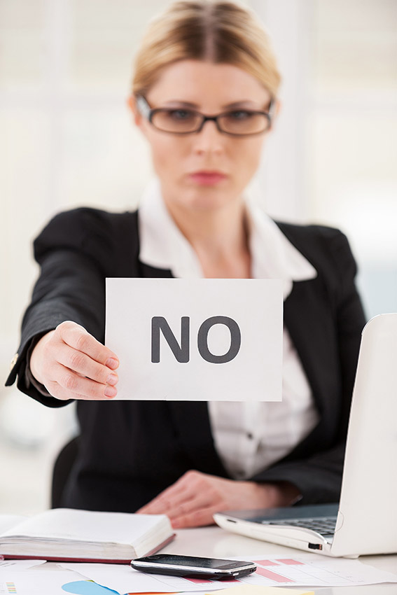 Learning to say no frees up your time