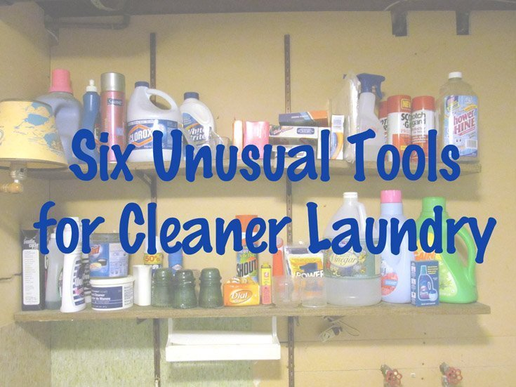 Six Unusual Tools for Cleaner Laundry