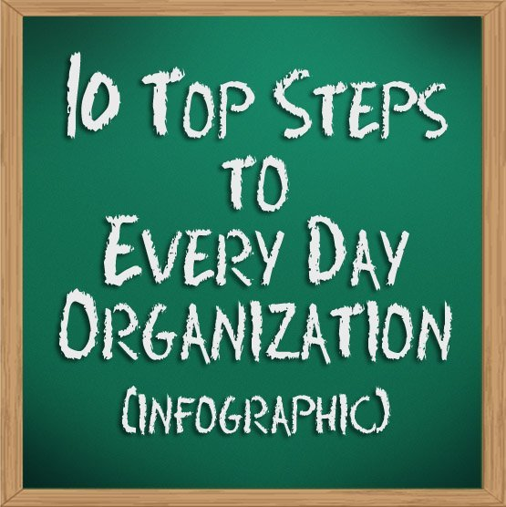10 Top Steps to Every Day Organization