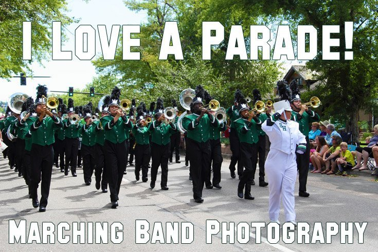 I Love a Parade — Marching Band Photography