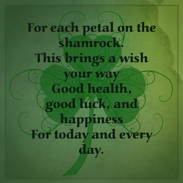 Good Luck Prayer Quotes: Irish Blessings For Your St. Patrick's Day