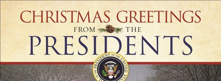 Christmas Greetings from the Presidents