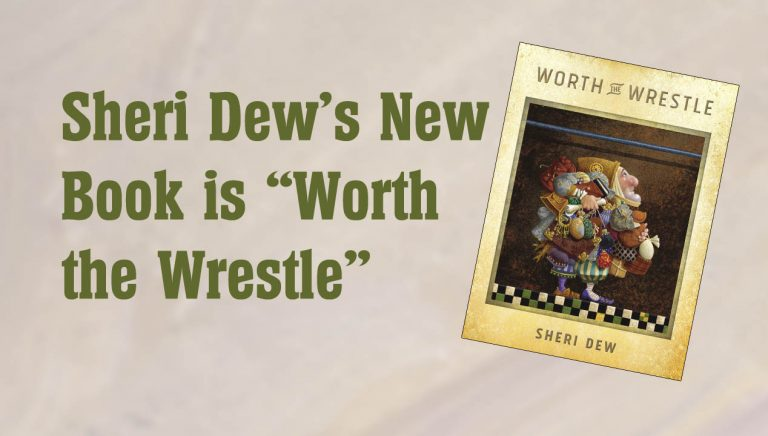 """Sheri Dew's New Book is """"Worth the Wrestle"""""""
