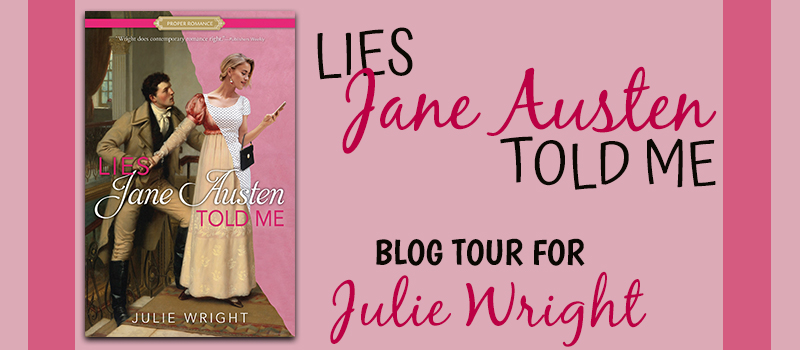 Lies Jane Austen Told Me Blog Tour Image
