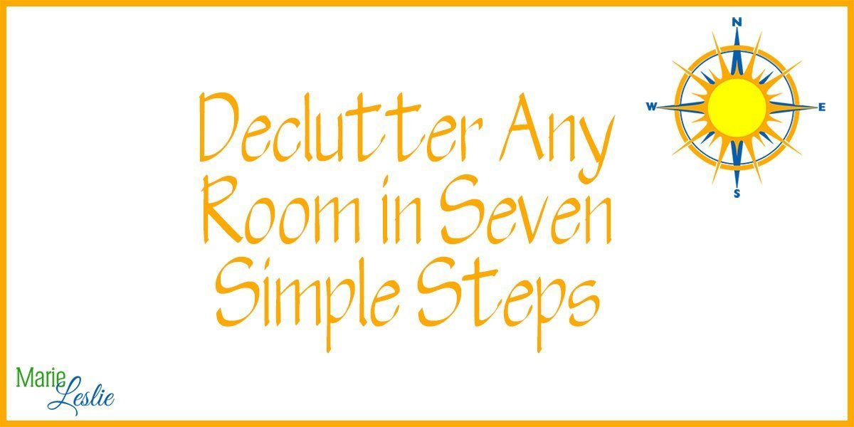 Declutter Any Room in Seven Simple Steps