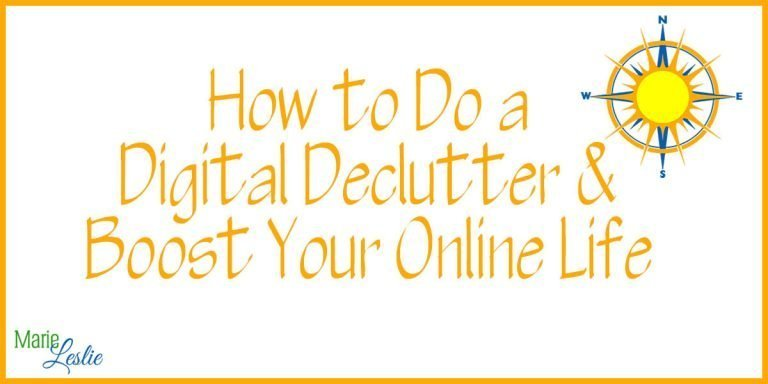 How to Do a Digital Declutter and Boost Your Online Life