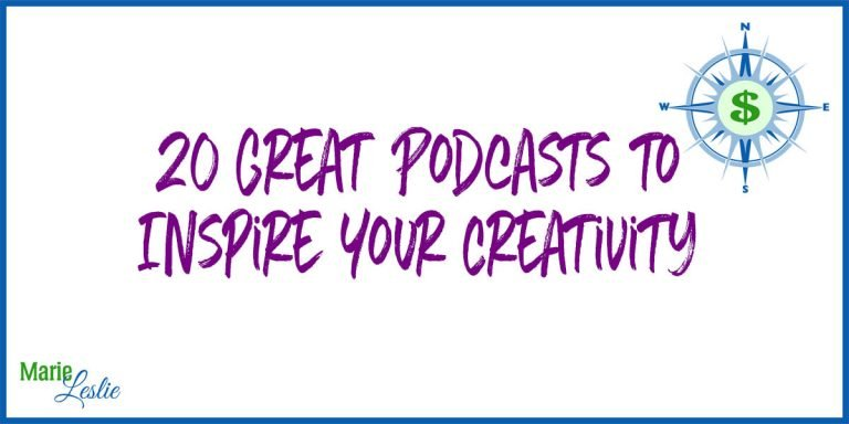 20 Great Podcasts to Inspire Your Creativity