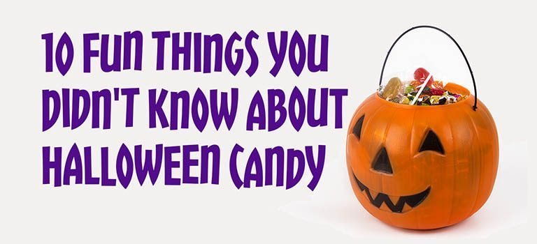 10 Fun Things You Didn't Know About Halloween Candy Infographic