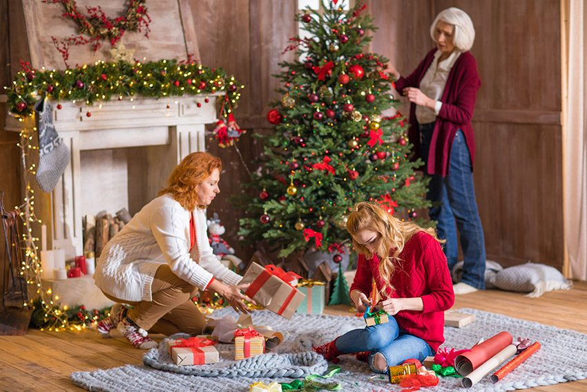 learn to delegate holiday chores