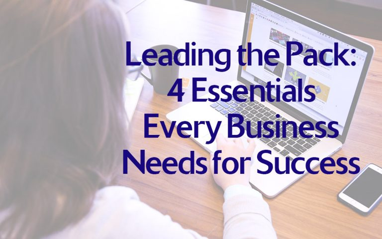 Leading the Pack-4 Essentials