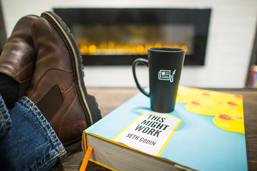 give a helpful business book