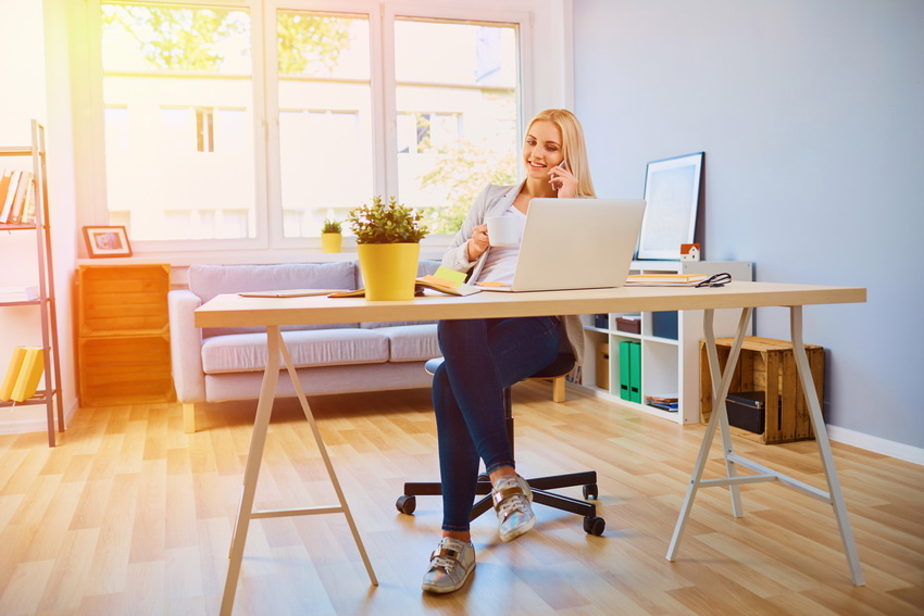 4 Ways to Upgrade Your Home Office to Be Enjoyable and Productive
