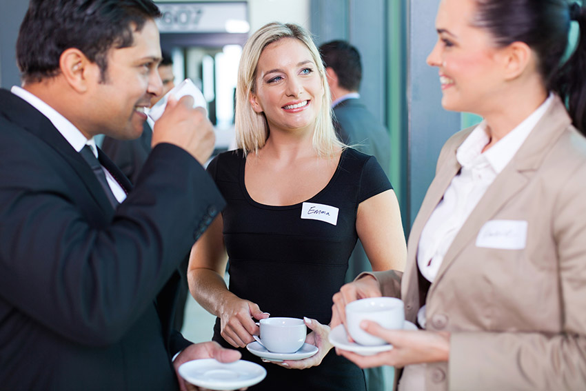 networking helps build relationships