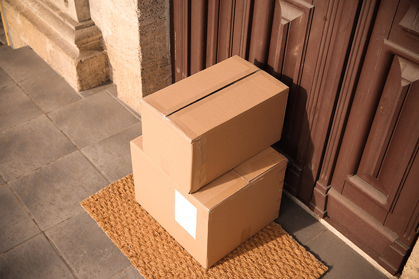 packages being delivered