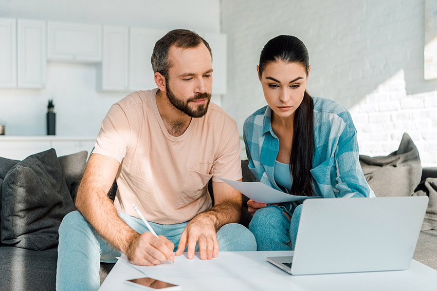 a couple re-evaluates their goals and plans