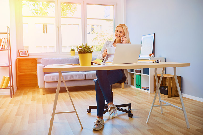 9 Top Tips for Working from Home Successfully-DP